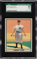 Baseball Cards:Singles (1940-1949), 1941 Play Ball Jimmie Foxx #13 SGC 96 Mint 9 - Pop Two with NoneHigher! ...