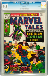 Marvel Tales #22 Twin Cities pedigree (Marvel, 1969) CGC NM/MT 9.8 White pages