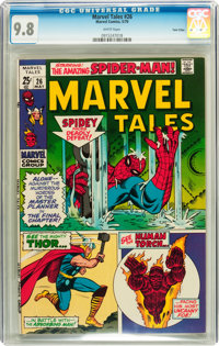 Marvel Tales #26 Twin Cities pedigree (Marvel, 1970) CGC NM/MT 9.8 White pages