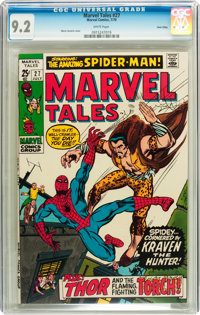 Marvel Tales #27 Twin Cities pedigree (Marvel, 1970) CGC NM- 9.2 White pages