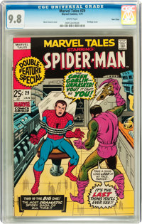 Marvel Tales #29 Twin Cities pedigree (Marvel, 1971) CGC NM/MT 9.8 White pages