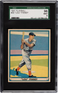 Baseball Cards:Singles (1940-1949), 1941 Play Ball Lou Finney #30 SGC 96 Mint 9 - Pop One, None Higher!...
