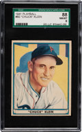 Baseball Cards:Singles (1940-1949), 1941 Play Ball Chuck Klein #60 SGC 88 NM/MT 8 - Finest SGC Example! ...