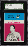 Basketball Cards:Singles (Pre-1970), 1961 Fleer Carl Braun #7 SGC 96 Mint 9 - Pop One with NoneHigher!....