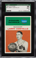 Basketball Cards:Singles (Pre-1970), 1961 Fleer Larry Costello #9 SGC 96 Mint 9 - Pop Three With None Higher....