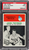 Basketball Cards:Singles (Pre-1970), 1961 Fleer Jack Twyman #65 PSA Mint 9....