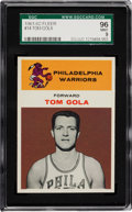 Basketball Cards:Singles (Pre-1970), 1961 Fleer Tom Gola #14 SGC 96 Mint 9 - Highest SGC GradeRecorded....