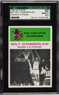 Basketball Cards:Singles (Pre-1970), 1961 Fleer Wilt Chamberlain IA #47 SGC 92 NM/MT+ 8.5 - One of Threewith One Higher. ...