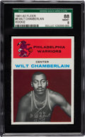 Basketball Cards:Singles (Pre-1970), 1961 Fleer Wilt Chamberlain #8 SGC 88 NM/MT 8....