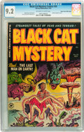 Golden Age (1938-1955):Horror, Black Cat Mystery #35 Mile High pedigree (Harvey, 1952) CGC NM- 9.2Off-white to white pages....