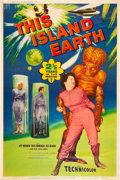 "Movie Posters:Science Fiction, This Island Earth (Universal International, 1955). Poster (40"" X60"") Style Y.. ..."