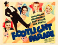 "Movie Posters:Musical, Footlight Parade (Warner Brothers, 1933). Half Sheet (22"" X 28"")....."