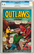 Golden Age (1938-1955):Western, Outlaws #2 Mile High pedigree (D.S. Publishing, 1948) CGC NM 9.4Off-white to white pages....