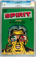 Golden Age (1938-1955):Superhero, The Spirit #9 Mile High pedigree (Quality, 1947) CGC NM+ 9.6 White pages....