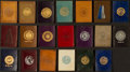 Non-Sport Cards:Lots, 1910's L20 College Seals, L21 College Pennants and L23 State SealsLeathers (81). ...