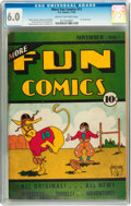Platinum Age (1897-1937):Miscellaneous, More Fun Comics #15 (DC, 1936) CGC FN 6.0 Cream to off-white pages....