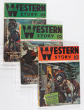 Pulps:Western, Assorted Western Pulps Group (Various, 1930s-'50s) Condition: Average VG....