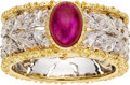 Estate Jewelry:Rings, Ruby, Gold Ring, Buccellati. ...