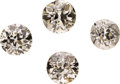 Estate Jewelry:Unmounted Diamonds, Unmounted Diamonds. ...