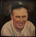 Baseball Collectibles:Others, Tris Speaker Original Oil Painting....