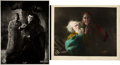 "Faust (UFA, 1926). German Lobby Cards (2) (9.5"" "" X 11.75"" and 8.5"" X 11""). ... (Total: 2 Items..."
