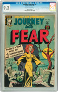 Golden Age (1938-1955):Horror, Journey Into Fear #5 Mile High pedigree (Superior, 1952) CGC NM-9.2 Off-white to white pages....