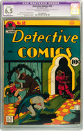 Golden Age (1938-1955):Superhero, Detective Comics #52 (DC, 1941) CGC Apparent FN+ 6.5 Slight (A) Off-white to white pages....
