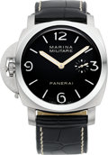 Timepieces:Wristwatch, Panerai PAM 217 Exceptional NIB Left Handed Marina Militare, No. H0465/1000, Ref. OP6645, circa 2005. ...