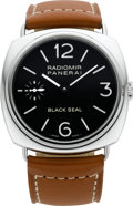 Timepieces:Wristwatch, Panerai PAM 183G Radiomir Black Seal, Ref. OP 6603, No. 829/1500. ...