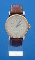 Timepieces:Wristwatch, Chronoswiss Two-Tone Automatic Wristwatch With Date. ...