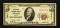 National Bank Notes:Missouri, Sedalia, MO - $10 1929 Ty. 1 The Citizens NB Ch. # 1971. ...