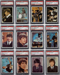 "Non-Sport Cards:Sets, 1964 Topps ""Beatles Color Photos"" Near Set (50/64) - #8 on the PSA Set Registry. ..."
