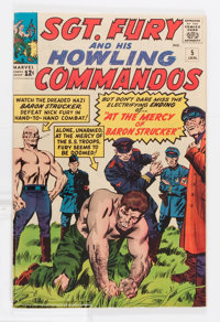 Sgt. Fury and His Howling Commandos #5 Twin Cities pedigree (Marvel, 1964) Condition: FN/VF
