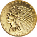Proof Indian Quarter Eagles: , 1910 $2 1/2 PR67 NGC. Ex: Lisa L. The mintage of the 1910 proofquarter eagles is recorded as 682 pieces, a number that on ...