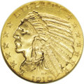 Proof Indian Half Eagles: , 1910 $5 PR67 ★ NGC. The years from 1908 to 1915 were ones of experimentation at the Mint with...