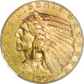 """1908-S $5 MS65 PCGS. The useful Garrett-Guth Gold Encyclopedia (2006) comments regarding this issue, """"If a single c..."""