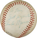 Autographs:Baseballs, Late 1970's Thurman Munson Single Signed Baseball....