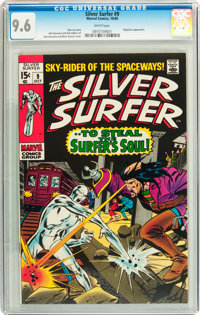 The Silver Surfer #9 (Marvel, 1969) CGC NM+ 9.6 White pages