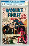 Silver Age (1956-1969):Superhero, World's Finest Comics #131 (DC, 1963) CGC NM- 9.2 Off-white to white pages....