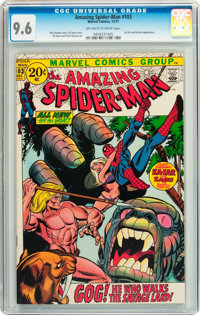 The Amazing Spider-Man #103 (Marvel, 1971) CGC NM+ 9.6 Off-white to white pages