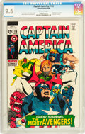 Silver Age (1956-1969):Superhero, Captain America #116 (Marvel, 1969) CGC NM+ 9.6 Off-white pages....