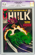 Silver Age (1956-1969):Superhero, The Incredible Hulk #107 (Marvel, 1968) CGC Apparent NM+ 9.6 Slight (P) White pages....