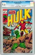 Bronze Age (1970-1979):Superhero, The Incredible Hulk #131 (Marvel, 1970) CGC NM+ 9.6 White pages....