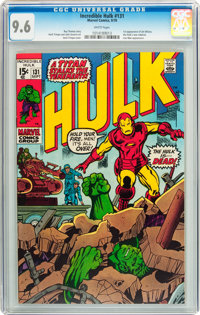 The Incredible Hulk #131 (Marvel, 1970) CGC NM+ 9.6 White pages