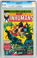 Bronze Age (1970-1979):Superhero, The Inhumans #1 (Marvel, 1975) CGC NM/MT 9.8 Off-white to white pages....