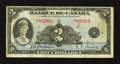 Canadian Currency: , BC-4 $2 1935 Fine.. ...
