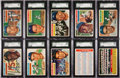 Baseball Cards:Sets, 1956 Topps Baseball Complete Set (340) Plus Checklists and Wrapper. ...