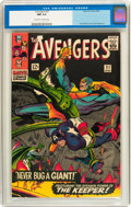 Silver Age (1956-1969):Superhero, The Avengers #31 (Marvel, 1966) CGC NM 9.4 Off-white to white pages....