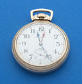 Timepieces:Pocket (post 1900), Hamilton 21 Jewel Double Time Zone Pocket Watch. ...