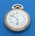 Timepieces:Pocket (post 1900), Waltham 25 Jewel Incabloc Pocket Watch. ...